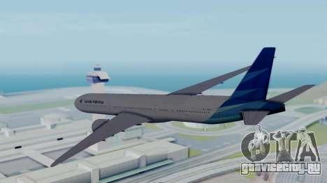 Boeing 777-9U3(X) Garuda Indonesia для GTA San Andreas вид справа