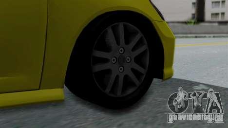 Honda Accord Vtec2 Stock для GTA San Andreas вид сзади слева