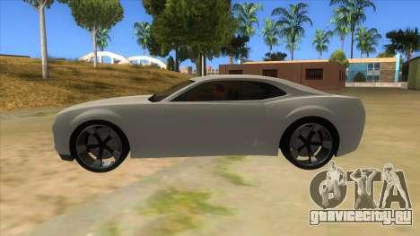 Chevrolet Camaro DOSH tuning MQ для GTA San Andreas вид слева