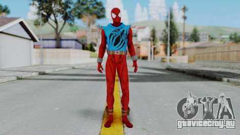 Scarlet Spider Ben Reilly для GTA San Andreas второй скриншот