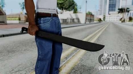 No More Room in Hell - Machete для GTA San Andreas