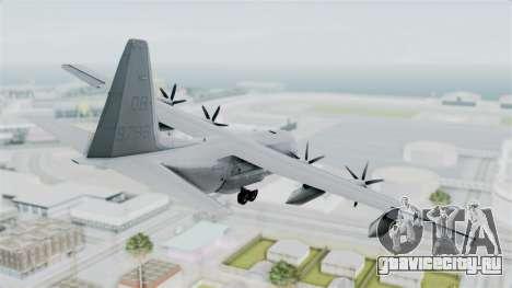 KC-130J Harvest Hawk для GTA San Andreas вид слева