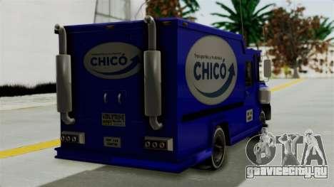 Chevrolet C30 Furgon Stylo Colombia для GTA San Andreas вид слева