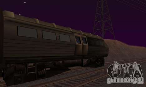 Batman Begins Monorail Train v1 для GTA San Andreas вид слева