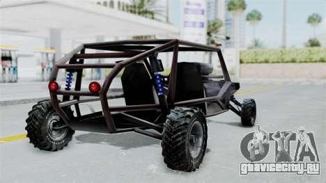 Двухместной Bandito v2 для GTA San Andreas вид слева