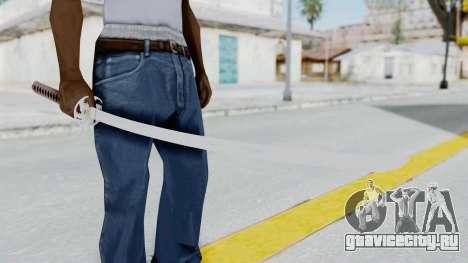 Samurai Sword для GTA San Andreas третий скриншот