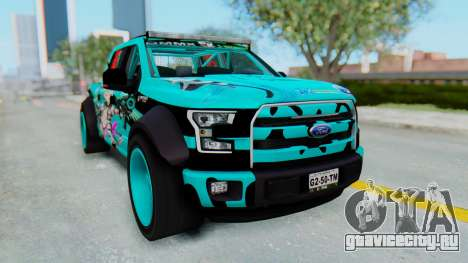 Ford F-150 2015 Drift Gym для GTA San Andreas