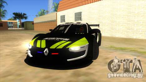 Renault Sport RS 01 INTERCEPTOR для GTA San Andreas