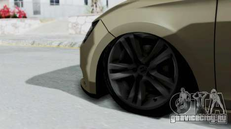 Seat Leon для GTA San Andreas вид сзади слева