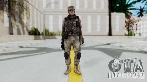 Crysis 2 US Soldier 5 Bodygroup B для GTA San Andreas второй скриншот