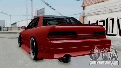 Nissan Silvia S13 Drift для GTA San Andreas вид слева