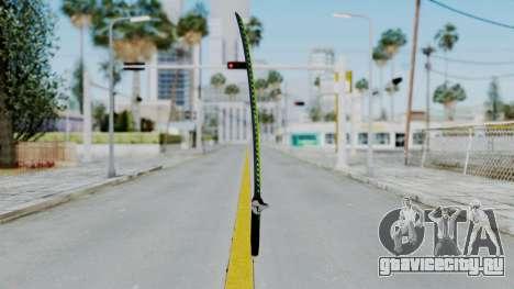Genji Katana - Overwatch для GTA San Andreas второй скриншот