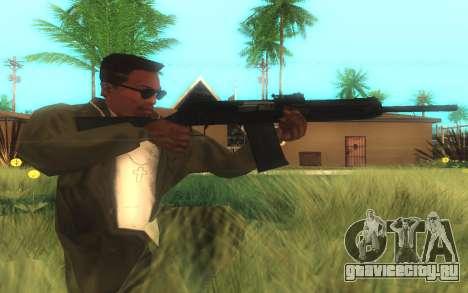 Сайга-12 Gauge для GTA San Andreas второй скриншот