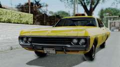 Dodge Polara 1971 Kaufman Cab для GTA San Andreas