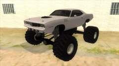 1971 Plymouth Hemi Cuda Monster Truck