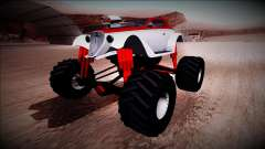 GTA 5 Hotknife Monster Truck для GTA San Andreas