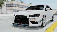 Mitsubishi Lancer Evolution X GSR Full Tunable для GTA San Andreas