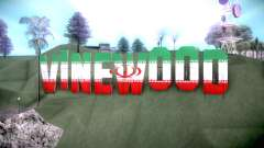 New Vinewood colors Iran flag для GTA San Andreas