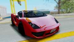 GTA 5 Pegassi Vacca SA Style для GTA San Andreas