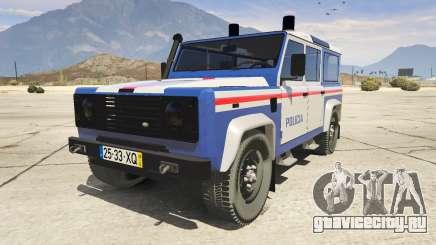 Land Rover Defender для GTA 5