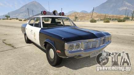 1972 AMC Matador LAPD для GTA 5