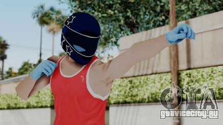 Biker from Hotline Miami для GTA San Andreas
