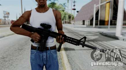 No More Room in Hell - M16A4 ACOG для GTA San Andreas