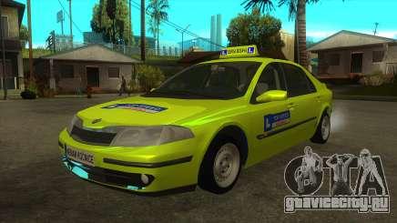 Renault Laguna Mk2 Top Speed Auto Škola для GTA San Andreas