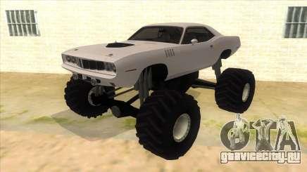 1971 Plymouth Hemi Cuda Monster Truck для GTA San Andreas