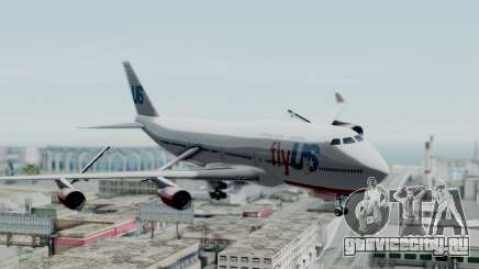 GTA 5 Jumbo Jet v1.0 FlyUS для GTA San Andreas
