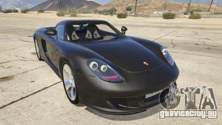 Porsche Carrera GT для GTA 5