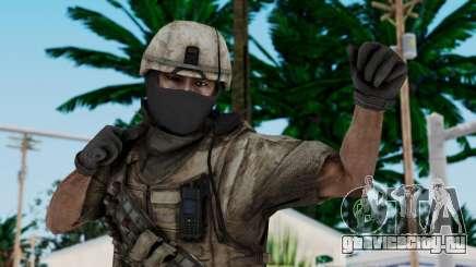 Crysis 2 US Soldier 7 Bodygroup B для GTA San Andreas