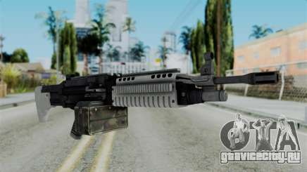 GTA 5 Combat MG - Misterix 4 Weapons для GTA San Andreas