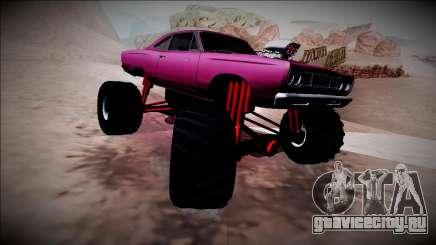 1969 Plymouth Road Runner Monster Truck для GTA San Andreas