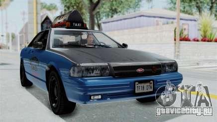 GTA 5 Vapid Stanier II Taxi IVF для GTA San Andreas