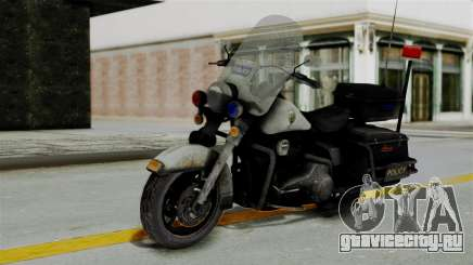 Police Bike from RE ORC для GTA San Andreas