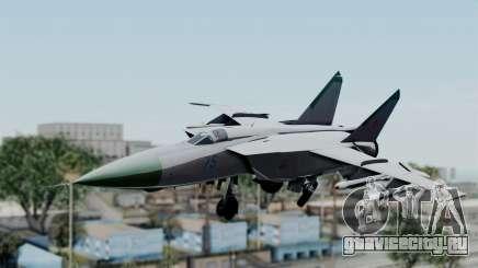 MIG-25 Foxbat для GTA San Andreas