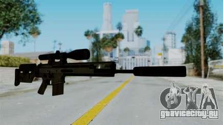 SCAR-20 v2 Supressor для GTA San Andreas