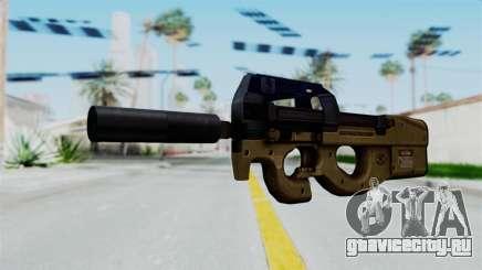 P90 Sand Frame для GTA San Andreas