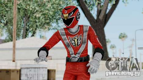 Power Rangers RPM - Red для GTA San Andreas