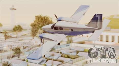 Piper Seneca II v2 для GTA San Andreas вид слева