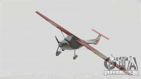 Ultralight Allegro 2000 v3 для GTA San Andreas вид сзади слева