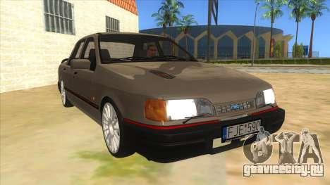 Ford Sierra Sapphire Cosworth для GTA San Andreas вид сзади