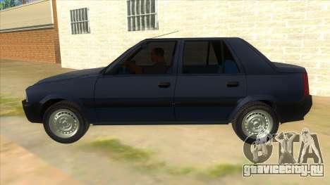 Dacia Solenza V2 для GTA San Andreas вид слева