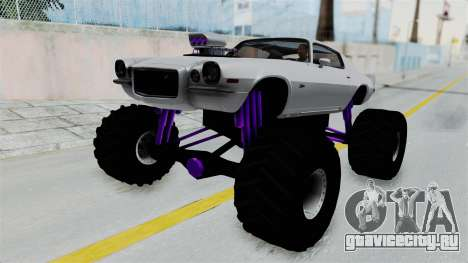 Chevrolet Camaro Z28 1970 Monster Truck для GTA San Andreas