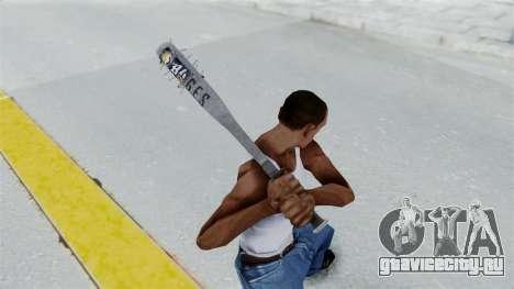 Nail Baseball Bat v5 для GTA San Andreas