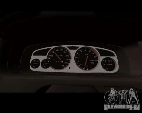 Nissan R33 GT-R Tunable для GTA San Andreas вид изнутри