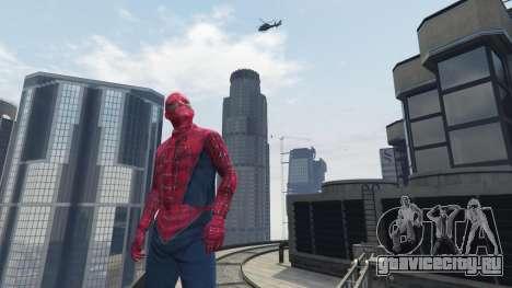 Человек-паук для GTA 5 пятый скриншот