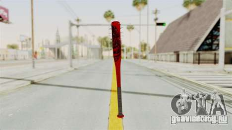 Nail Baseball Bat v2 для GTA San Andreas второй скриншот