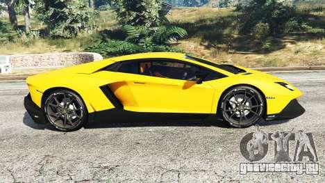 Lamborghini Aventador LP720-4 50th Anniversary для GTA 5